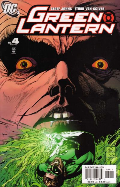 Cover for Green Lantern (DC, 2005 series) #4