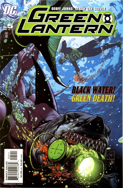Cover for Green Lantern (DC, 2005 series) #5