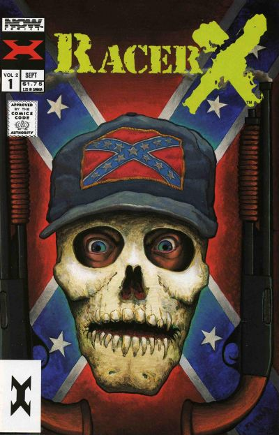 Cover for Racer X (Now, 1989 series) #1