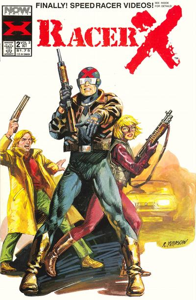 Cover for Racer X (Now, 1989 series) #v2#2