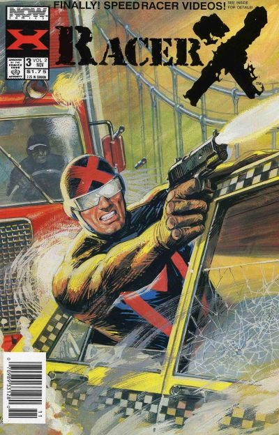 Cover for Racer X (Now, 1989 series) #3