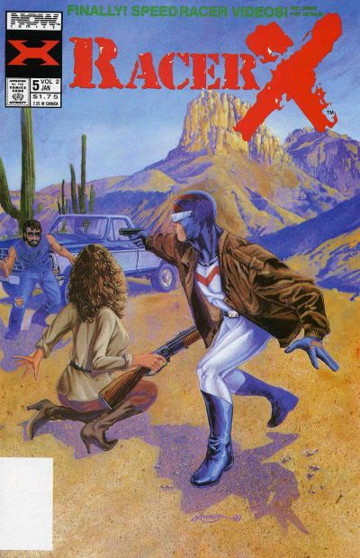 Cover for Racer X (Now, 1989 series) #5
