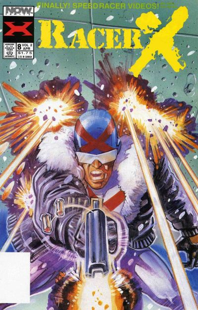 Cover for Racer X (Now, 1989 series) #8