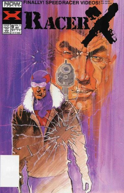 Cover for Racer X (Now, 1989 series) #9
