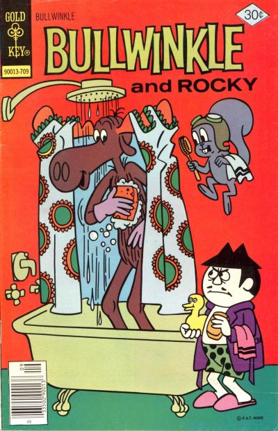 Cover for Bullwinkle (Western, 1962 series) #17 [Gold Key Variant]