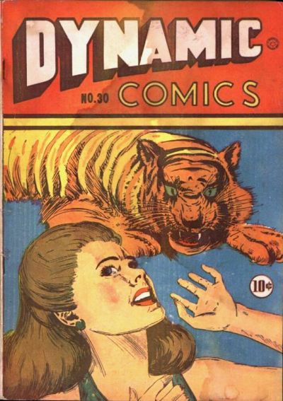 Cover for Dynamic Comics (Superior Publishers Limited, 1947 series) #30