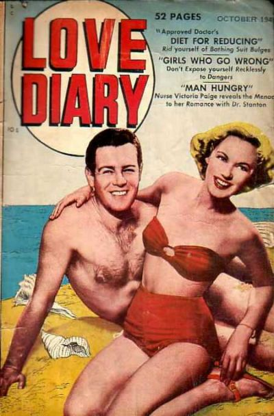 Cover for Love Diary (Orbit-Wanted, 1949 series) #2