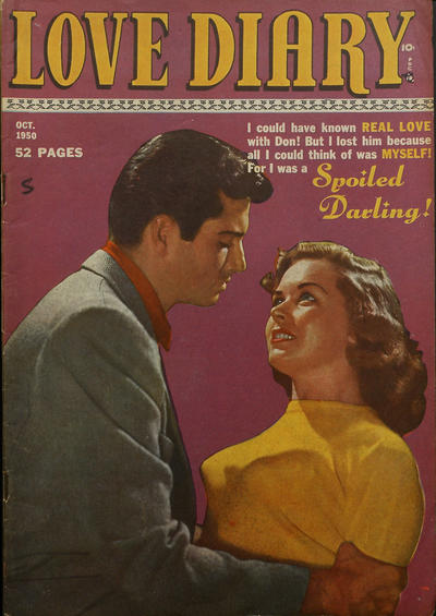 Cover for Love Diary (Orbit-Wanted, 1949 series) #9