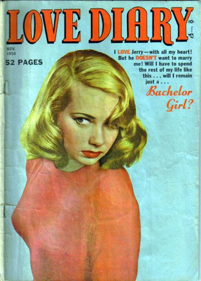 Cover for Love Diary (Orbit-Wanted, 1949 series) #10