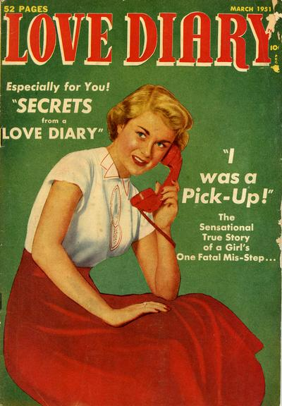 Cover for Love Diary (Orbit-Wanted, 1949 series) #14