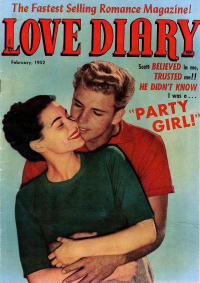 Cover for Love Diary (Orbit-Wanted, 1949 series) #25