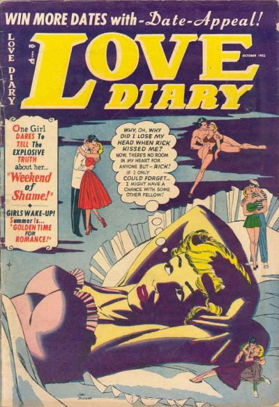 Cover for Love Diary (Orbit-Wanted, 1949 series) #31