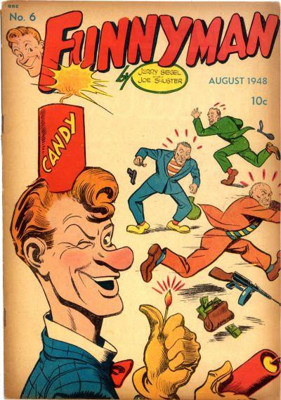 Cover for Funnyman (Magazine Enterprises, 1948 series) #6