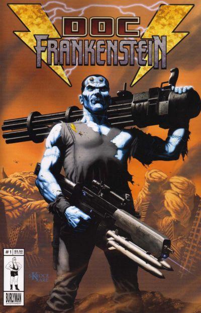 Cover for Doc Frankenstein (Burlyman Entertainment, 2004 series) #1