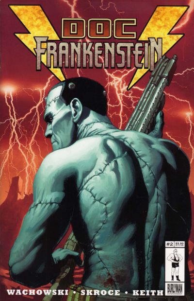 Cover for Doc Frankenstein (Burlyman Entertainment, 2004 series) #2 [Regular Cover]