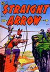 Cover for Straight Arrow (Magazine Enterprises, 1950 series) #9