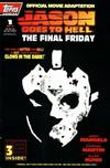 Cover for Jason Goes to Hell The Final Friday (Topps, 1993 series) #1