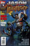Cover for Jason vs. Leatherface (Topps, 1995 series) #1