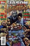 Cover for Jason vs. Leatherface (Topps, 1995 series) #2