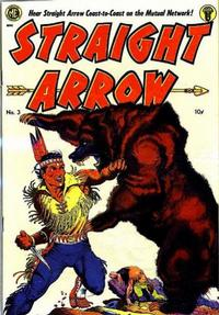 Cover Thumbnail for Straight Arrow (Magazine Enterprises, 1950 series) #3