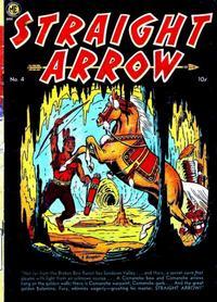 Cover Thumbnail for Straight Arrow (Magazine Enterprises, 1950 series) #4