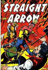 Cover Thumbnail for Straight Arrow (Magazine Enterprises, 1950 series) #8