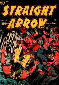 Cover Thumbnail for Straight Arrow (Magazine Enterprises, 1950 series) #10