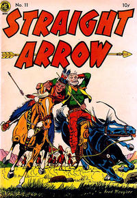 Cover Thumbnail for Straight Arrow (Magazine Enterprises, 1950 series) #11