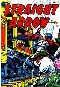 Cover Thumbnail for Straight Arrow (Magazine Enterprises, 1950 series) #13