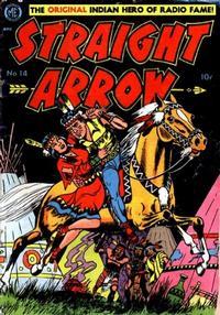Cover Thumbnail for Straight Arrow (Magazine Enterprises, 1950 series) #14