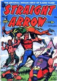 Cover Thumbnail for Straight Arrow (Magazine Enterprises, 1950 series) #17