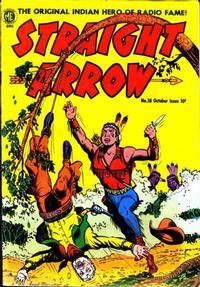 Cover Thumbnail for Straight Arrow (Magazine Enterprises, 1950 series) #18