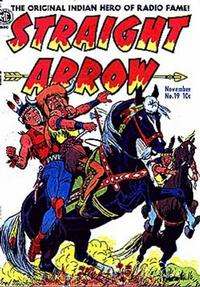 Cover Thumbnail for Straight Arrow (Magazine Enterprises, 1950 series) #19