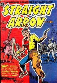 Cover Thumbnail for Straight Arrow (Magazine Enterprises, 1950 series) #23