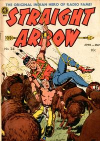 Cover Thumbnail for Straight Arrow (Magazine Enterprises, 1950 series) #24