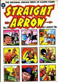 Cover for Straight Arrow (Magazine Enterprises, 1950 series) #25