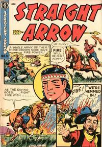 Cover Thumbnail for Straight Arrow (Magazine Enterprises, 1950 series) #31