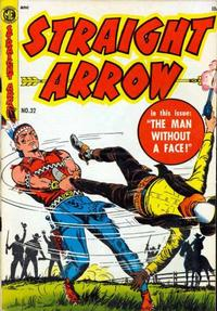 Cover Thumbnail for Straight Arrow (Magazine Enterprises, 1950 series) #32