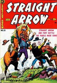 Cover Thumbnail for Straight Arrow (Magazine Enterprises, 1950 series) #33