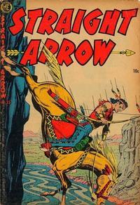 Cover Thumbnail for Straight Arrow (Magazine Enterprises, 1950 series) #35