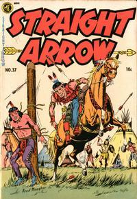 Cover Thumbnail for Straight Arrow (Magazine Enterprises, 1950 series) #37