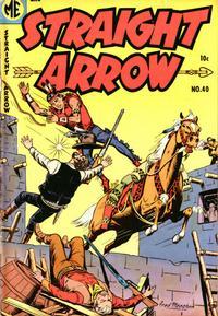 Cover Thumbnail for Straight Arrow (Magazine Enterprises, 1950 series) #40