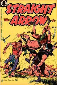 Cover Thumbnail for Straight Arrow (Magazine Enterprises, 1950 series) #42