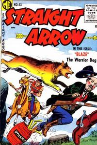Cover for Straight Arrow (Magazine Enterprises, 1950 series) #43