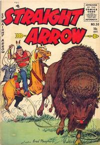 Cover Thumbnail for Straight Arrow (Magazine Enterprises, 1950 series) #50