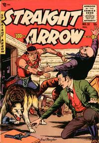Cover Thumbnail for Straight Arrow (Magazine Enterprises, 1950 series) #51