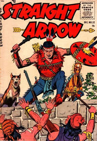 Cover Thumbnail for Straight Arrow (Magazine Enterprises, 1950 series) #52