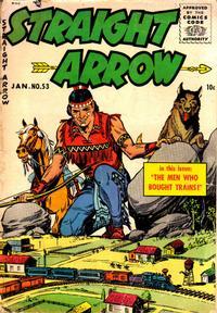 Cover Thumbnail for Straight Arrow (Magazine Enterprises, 1950 series) #53