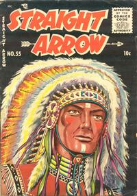 Cover Thumbnail for Straight Arrow (Magazine Enterprises, 1950 series) #55