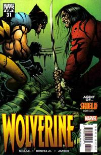 Cover Thumbnail for Wolverine (Marvel, 2003 series) #31 [Direct Edition]